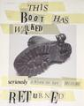 This Boot has walked..<br/>seriously a Work of Art <br/>must be Returned by Sir Eduardo Paolozzi