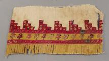 Pre-Columbian Embroidered robe hem<br/>c.1000-1400 A.D.