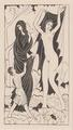 Nature and Nakedness <br/> signed wood engraving by Eric Gill