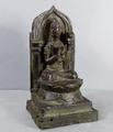 Old bronze seated <br/> Buddhist figure